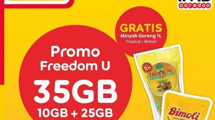 Promo Pertengahan Bulan Alfamart, Paket Internet Gratis Minyak Goreng dan Voucher Cashback 5 Persen