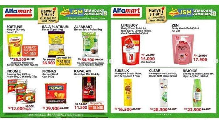 Belanja Murah Barang Kebutuhan Puasa, Simak Promo Alfamart Hari Terakhir Berlaku 25 April 2021