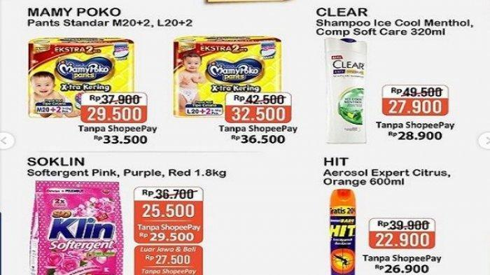 Promo Alfamart Rabu 17 Maret 2021, Promo Private Label, Hajatan Gopay, Promo Cashback 30% ShopeePay