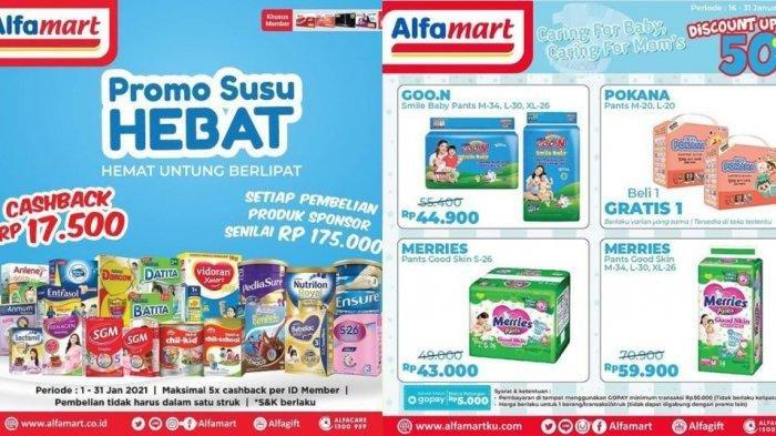 Katalog Promo Alfamart Senin 25 Januari 2021, Ada Potongan Harga dan Promo Serba Rp5000, Ayo Buruan!