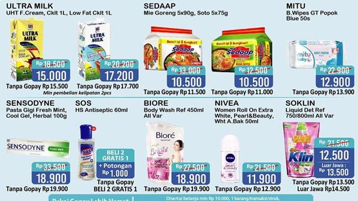 Promo Alfamart Terbaru Berlaku hingga 2 Agustus 2020, Diskon Harga Minyak Goreng sampai Sabun Mandi