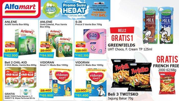 TERBARU, Katalog Promo Alfamart Produk Susu hingga Beli 2 Gratis 1, Berlaku hingga15 Agustus 2020