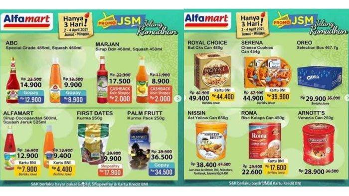 Diskon Jelang Ramadhan, Inilah Daftar Katalog Promo Alfamart 3 April 2021, Ada Sirup hingga Beras