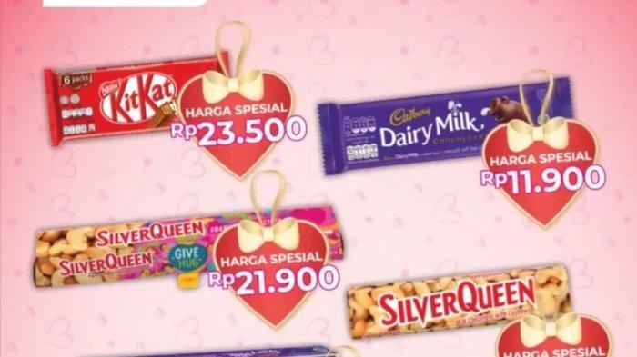 Jelang Valentine 14 Februari 2021, Serbu Promo Alfamart, Kit Kat Rp 23.500, Silver Queen Rp 21.900