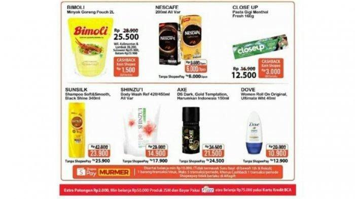 KATALOG Promo JSM Alfamart Minggu 20 Desember 2020, Diskon Harga Shampoo hingga Minyak Goreng