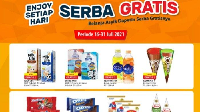 Promo Alfamart 20 Juli 2021 Terbaru, Serba Gratis, Sabun Cair, Aneka Snack & Promo Spesial Idul Adha