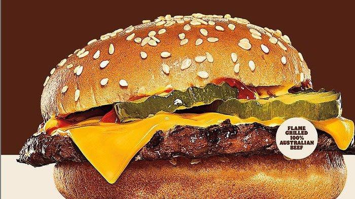 Promo Burger King 6 Oktober 2021, Varian Cheeseburger Fiesta Harga Rp 15.000, Pesan Sekarang
