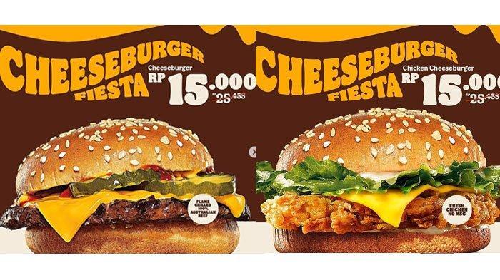 Promo Burger King Rp 15.000 berlaku sampai 31 Oktober 2021.