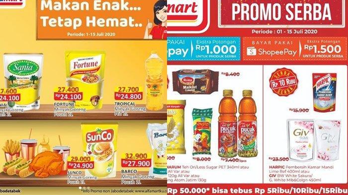 Daftar Promo Alfamart 3 Juli 2020 Makin Hemat Pakai Non Tunai Hingga Promo Minyak Goreng Murah Tribun Madura