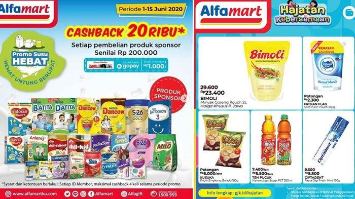 Update Katalog Promo Alfamart 6 Juni 2020 Minyak Goreng Murah Hingga Belanja Hemat Pakai Non Tunai Tribun Madura