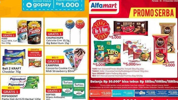 Daftar Katalog Promo Alfamart 22 Desember 2020, Mulai Promo Serba Rp 5000 Hingga Promo ShopeePay