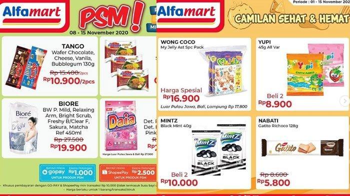 Promo Alfamart pada 11 November 2020, Beli 2 Gratis 2, Promo Gopay Hingga Promo PSM Tersedia
