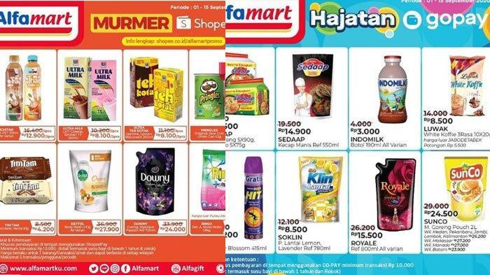 Promo Hemat GoPay dan ShopeePay di Alfamart, Promo Minyak Goreng Murah dan Belanja Hemat di Alfamart