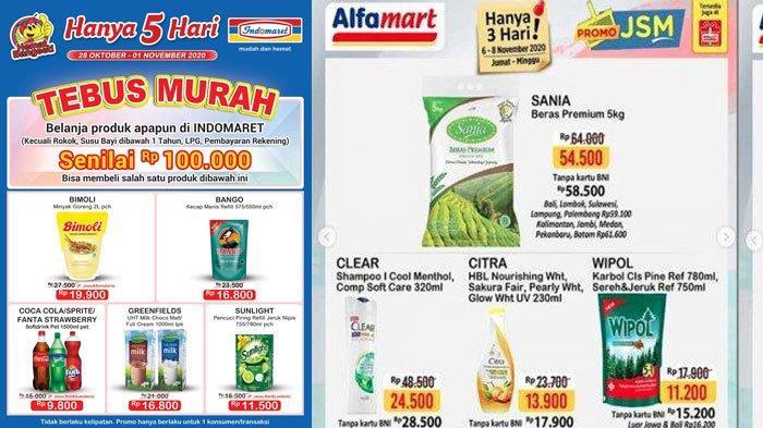 Katalog Promo Indomaret Dan Alfamart Di Akhir Pekan Promo Kosmetik Hingga Promo Beli 2 Gratis 1 Tribun Madura