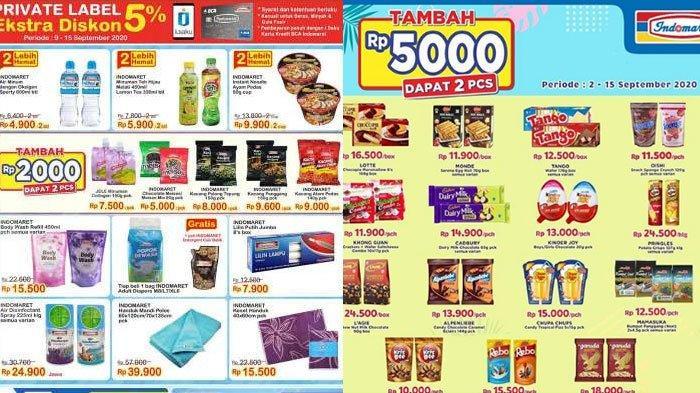 Katalog Promo Indomaret 10 September 2020, Promo Tambah Rp 5000 Dapat Dua dan Minyak Goreng Murah