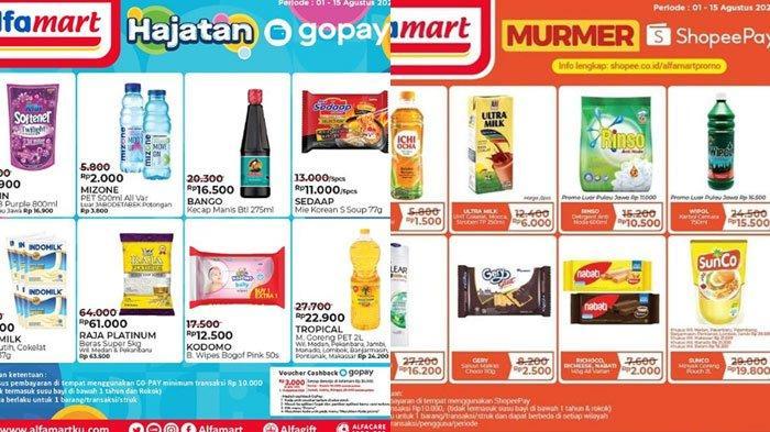 Katalog Promo Alfamart JSM 14 Agustus 2020, Promo Menarik Beli Banyak Lebih Hemat dan Promo GoPay