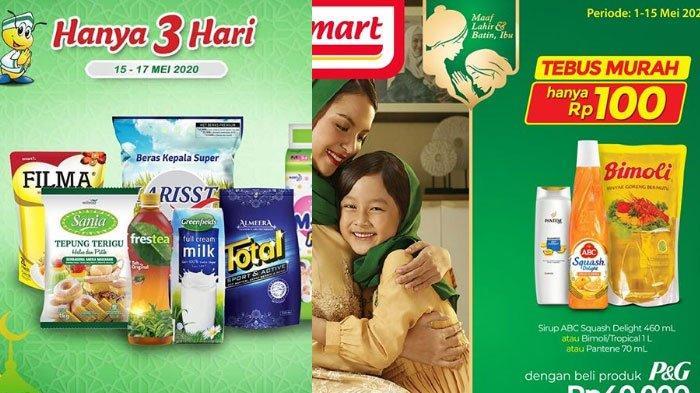 Daftar promo JSM Indomaret dan Alfamart 16 Mei 2020, Weekend Promo Melimpah, ada Promo Minyak Goreng