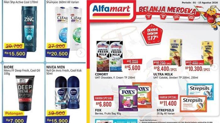Daftar Katalog Promo Alfamart 4 Agustus 2020 Promo Menarik Sambut Kemerdekaan Belanja Hemat Tribun Madura