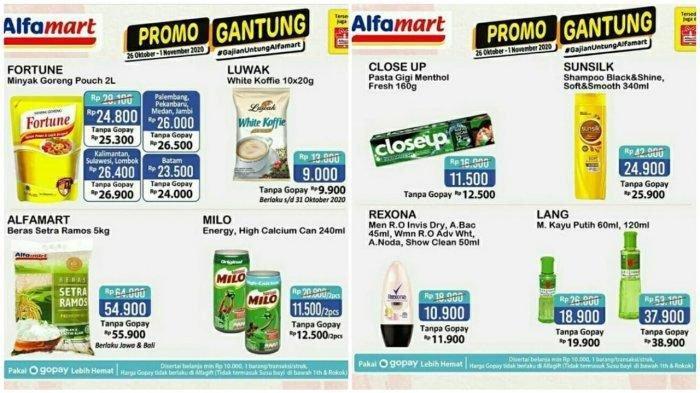 Promo Dan Diskon Alfamart Hingga 1 November 2020 Beras Dan Minyak Goreng Murah Ada Promo Shopeepay Tribun Madura