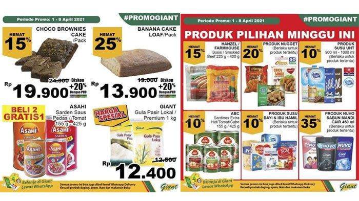 Kumpulan Katalog Promo Giant 3 April 2021, Belanja Kebutuhan Rumah Tangga Jelang Bulan Ramadan
