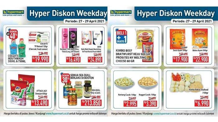 Promo Hypermart Periode Rabu 28 April 2021, Ada Diskon Produk Deterjen, Mi Instan, Sosis dan Bakso