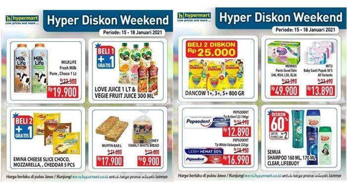 Hari Terakhir Promo Hypermart, Ada Promo Beli 1 Gratis 1 hingga Diskon Harga Susu Bayi dan Shampoo