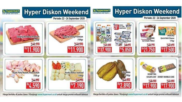 PromoHypermart 23 September 2020, Ada Diskon Harga Produk Daging, Buah, Susu Segar, hingga Yogurt