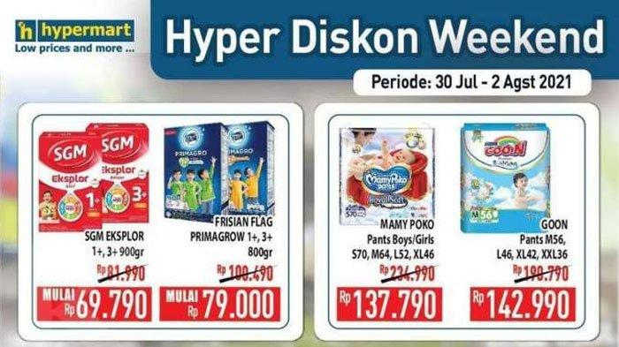 Belanja Hemat pada Akhir Bulan, Promo Hypermart 30 Juli - 2 Agustus 2021 Tawarkan Banyak Diskon