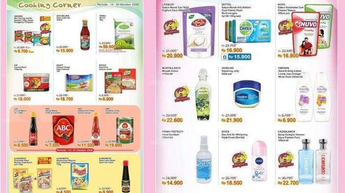 Katalog PromoIndomaret14 - 20 Oktober 2020, Ada Diskon Harga Sabun Mandi hingga Mi Instan