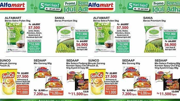 Promo Indomaret dan Alfamart 20 Juli 2021, Minyak Goreng Murah, Diskon hingga 50% Spesial Idul Adha