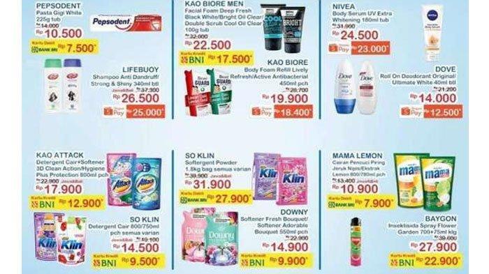 Katalog Promo Indomaret Hari ini, Banting Harga Deterjen, Beras, Sabun Mandi, hingga Kental Manis