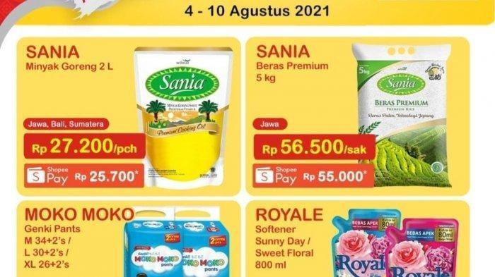Promo JSM Indomaret 6-8 Agustus 2021, Bumbu Dapur Diskon 50%, Minyak Goreng Sania 2 Liter Rp 27.200