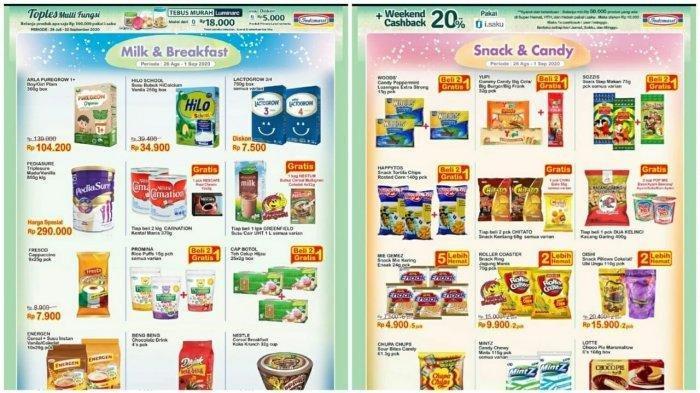 Katalog Promo Indomaret 1 September 2020 Diskon Harga Pewangi Pakaian Camilan Hingga Minyak Bimoli Tribun Madura