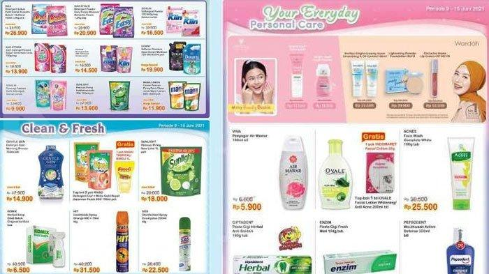 Katalog Promo Indomaret 14 Juni 2021, Minuman Deterjen hingga Produk Perawatan Wajah Diskon Harga