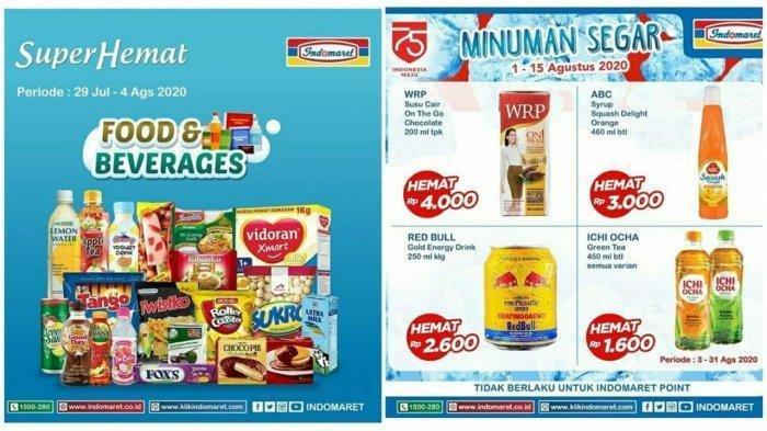 Katalog Promo Indomaret Super Hemat 4 Agustus 2020, Diskon Harga Makanan, Minuman hingga Sabun Mandi