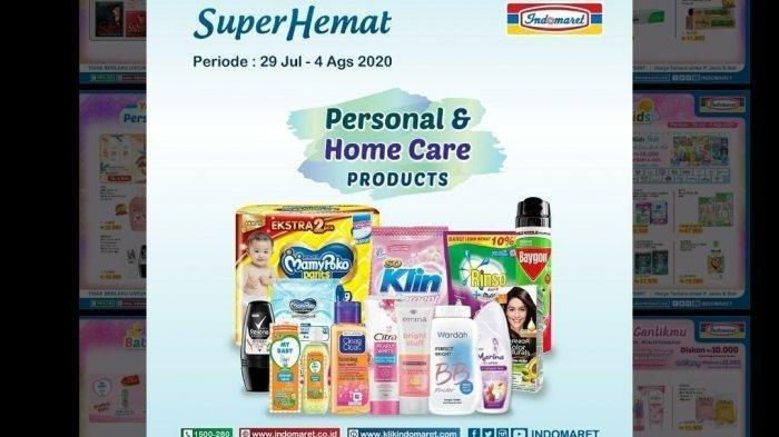Katalog Promo Indomaret 3 Agustus 2020, Diskon Detergen, Shampoo, Susu dan Camilan Beli 2 Gratis 1