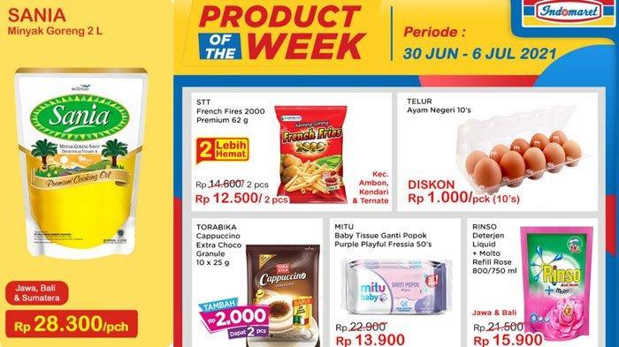 Daftar Promo dan Diskon Indomaret 30 Juni 2021, Promo Heboh, Minyak Goreng Murah Hingga ShopeePay