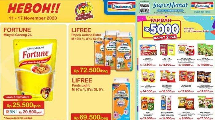 Katalog Promo Indomaret 11 17 November 2020 Minyak Goreng Shampoo Pembersih Lantai Ada Diskon Tribun Madura