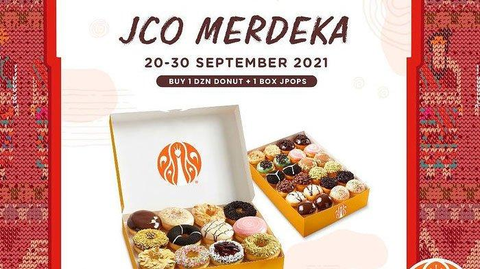 Promo J.CO JCO Merdeka