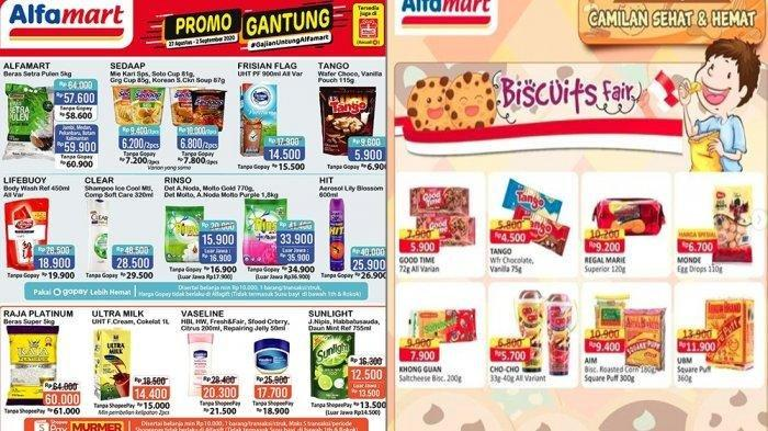 Promo JSM Alfamart 30 Agustus - 2 September 2020Diskon Harga Beras, Minyak Goreng Murah dan Camilan