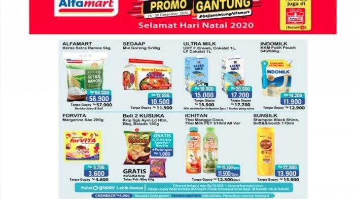 Promo JSM Alfamart 26 Desember 2020, Mulai dari Promo ShopeePay, GoPay Hingga Minyak Goreng Murah