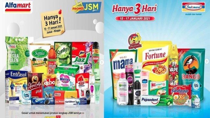 Terbaru Promo Indomaret dan Alfamart Minggu 17 Januari 2021, Dapatkan Beras dan Minyak Goreng Murah
