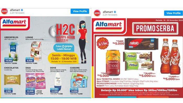 Katalog Promo Alfamart Minggu 22 November 2020, Belanja Hemat Pakai Non Tunai Hingga ShopeePay