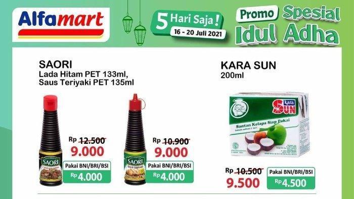 Promo JSM Alfamart Jumat 16 Juli 2021 Spesial Idul Adha, Kecap Rp 18.900, Minyak Goreng Rp 27.500