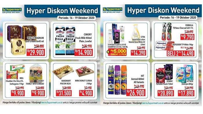 Katalog Promo JSM Hypermart 16 - 19 Oktober 2020,Diskon Harga Susu Cimory, Shampoo hingga Deterjen.