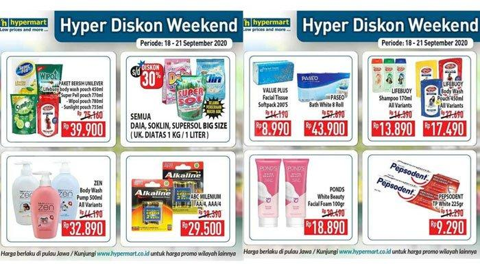 Promo Hypermart Senin 21 September 2020, Diskon Harga Sabun Cair Lifebuoy 450 Ml Cuma Rp 17 Ribuan