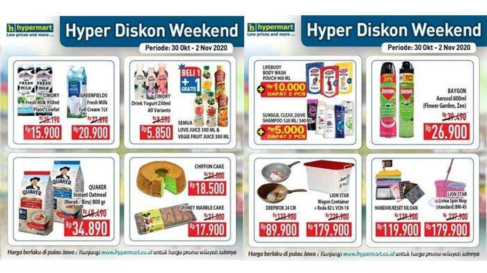 Katalog Promo Hypermart Senin 2 November 2020 Diskon Harga Produk Daging Susu Hingga Mi Instan Tribun Madura