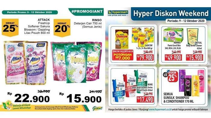 Katalog Promo JSMHypermart9 - 12 Oktober 2020, Diskon Harga Sabun Mandi, Popok Bayi, hingga Susu