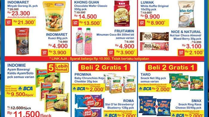 Promo Weekend Indomaret 5 Desember 2020 Belanja Hemat, Promo Minyak Goreng Hingga Beli 2 Gratis 1