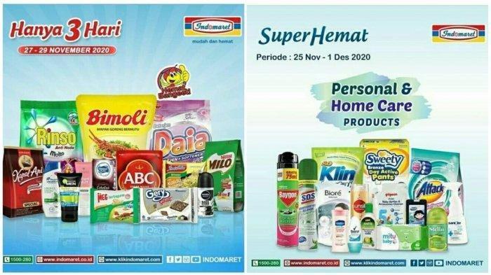 Katalog PromoJSM IndomaretSabtu 28 November 2020, Diskon Harga Deterjen, Shampoo dan Obat Nyamuk
